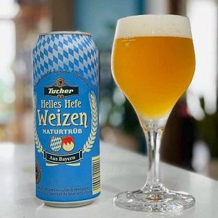 Bia Đức Tucher Weizen Lon 500ml